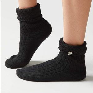 Urban Outfitters Cozy Slipper socks - black